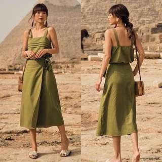 🚚 TCL Habibi Top - Olive (M)