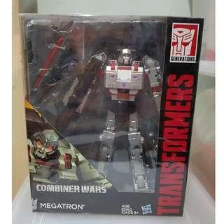 BIB Leader Class Hasbro Transformers Combiner War Megatron