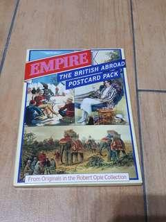 Robert Opie collection Empire The British abroad postcard pack