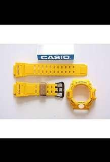 100% Authentic new sealed Casio G-Shock Lighting Yellow Rangeman GW-9430E-9 Band and Bezel Set limited edition