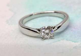 c8b503bca Mint Tiffany & Co Harmony Diamond 0.25ct Platinum Ring VS1 3EX H&C PT950