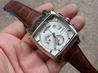 Tag monaco LS chrono white dial