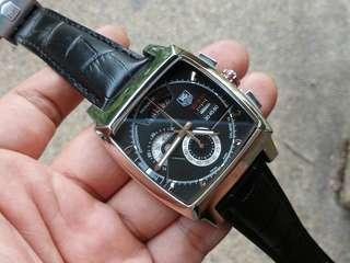 Tag monaco LS chrono black dial