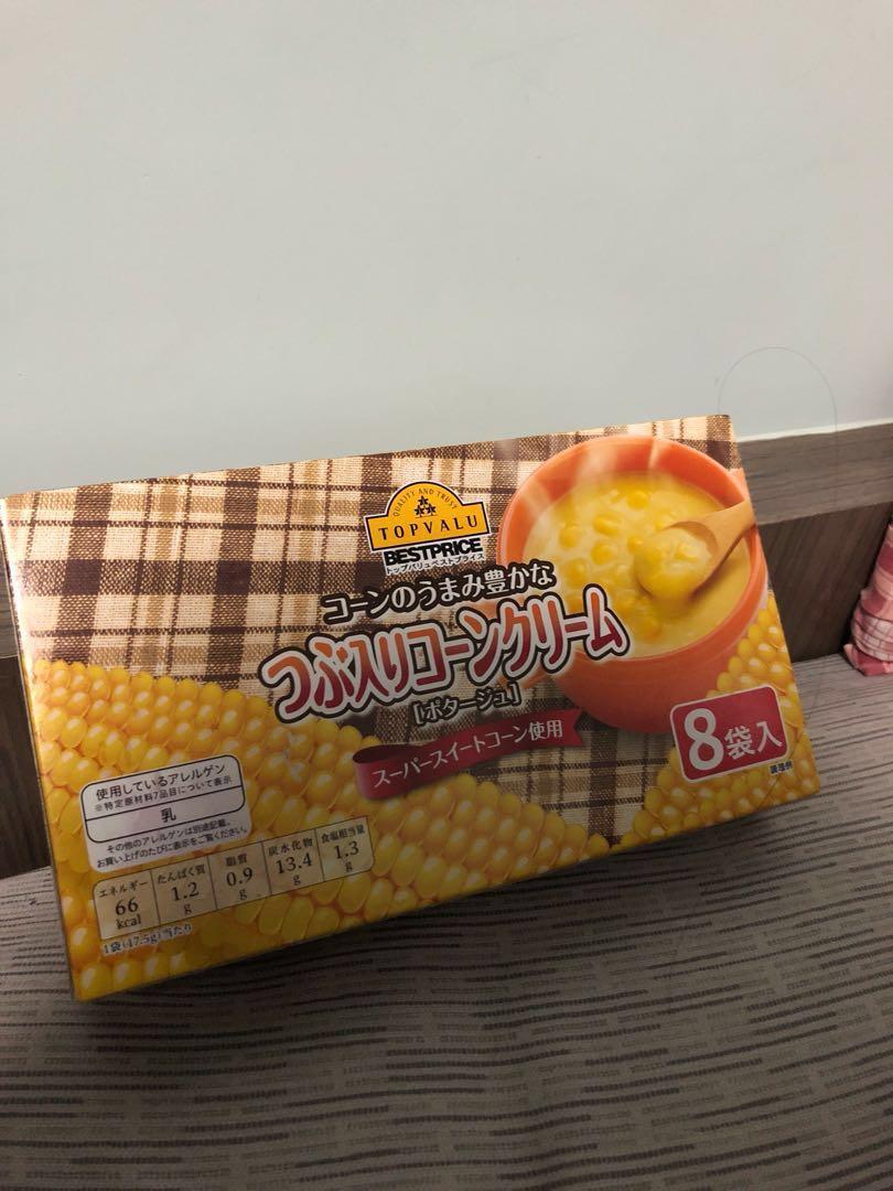 日本粟米濃湯