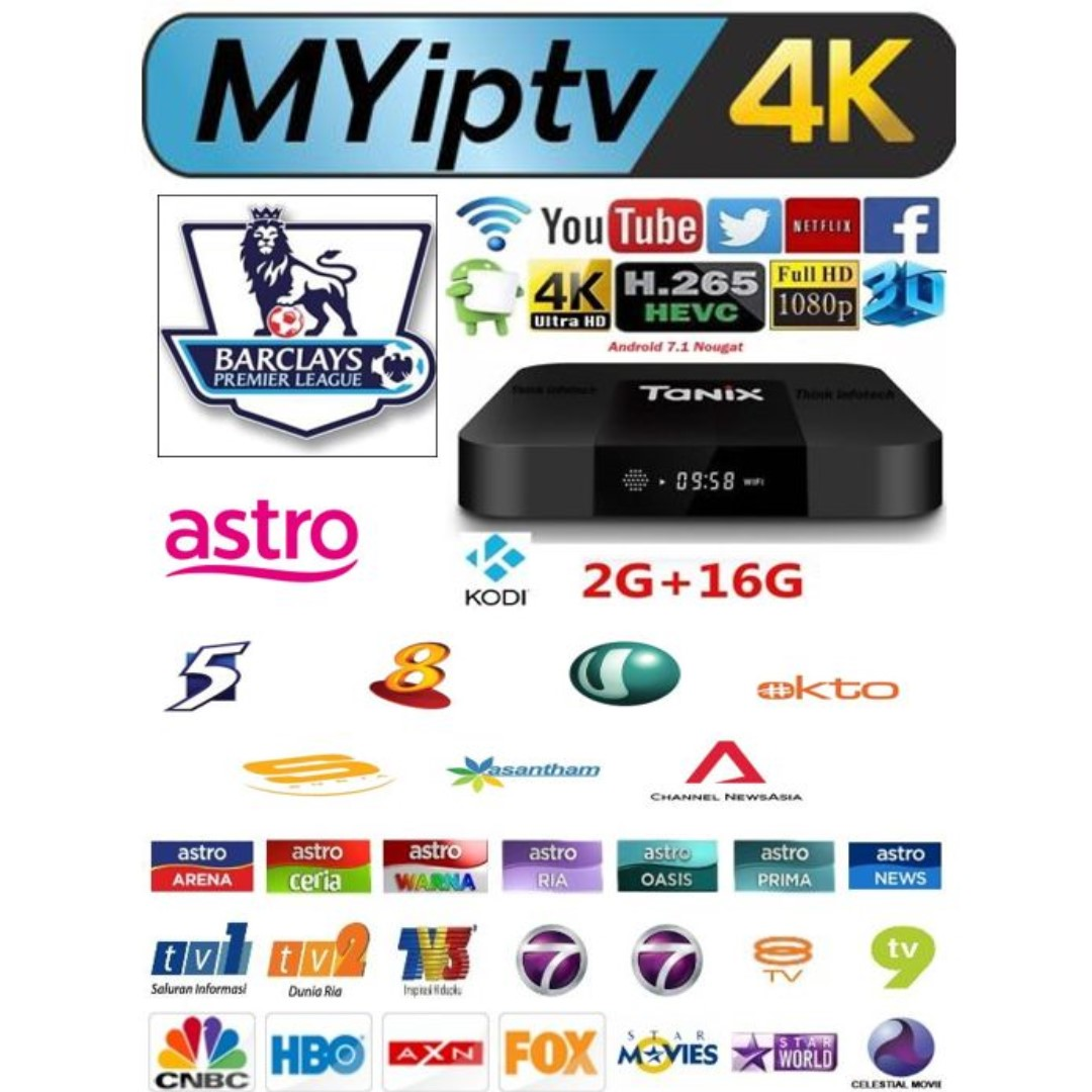 Myiptv package with Tx3 mini android tv box, 2g ram, 16g rom, sport, EPL ,  no subscription, tv box, set up box, myiptv4k, latest android box, android