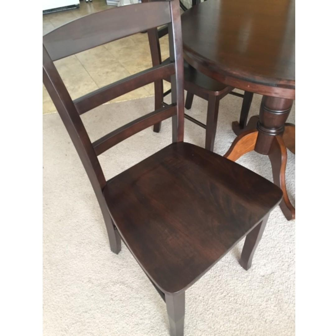 Apartment Size Dining Set Furniture Tables Chairs On Carousell