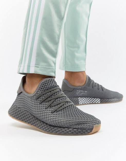 Authentic Adidas Deerupt in Grey ~~
