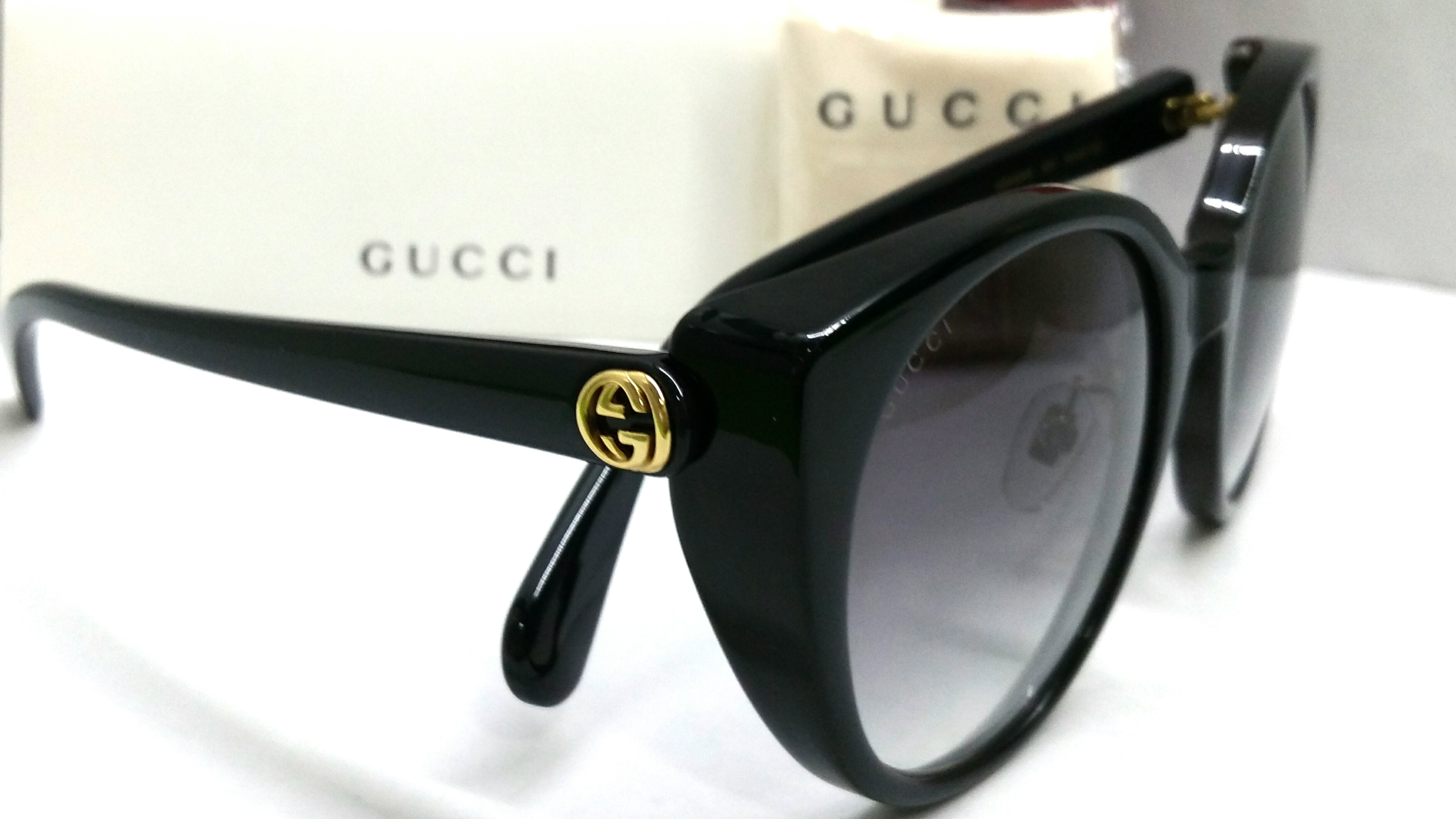 ead49b522c7 Authentic Gucci Sunglasses GG0369S 001 with Individualized serial ...