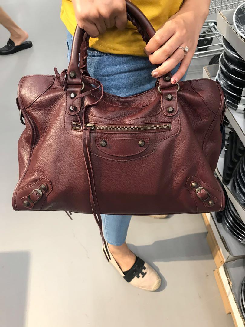 a7d9f6f997 Balenciaga City, Luxury, Bags & Wallets, Handbags on Carousell