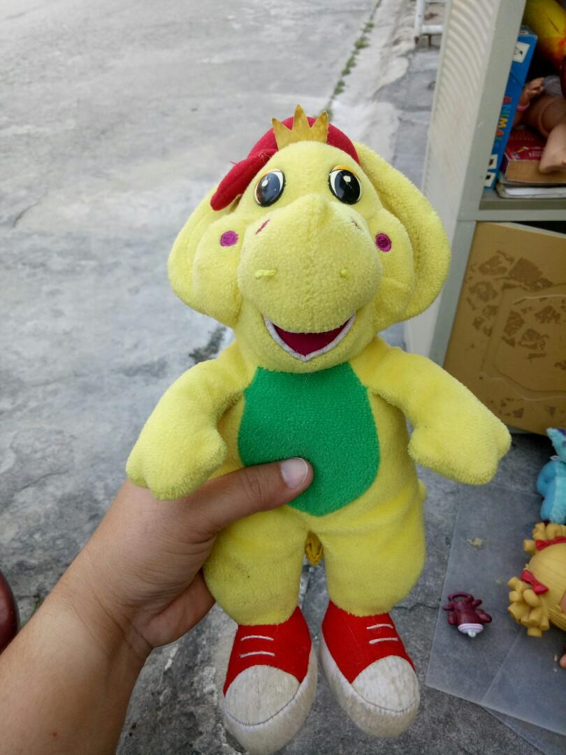 Barney BJ & Baby Bop stuffed toys on Carousell