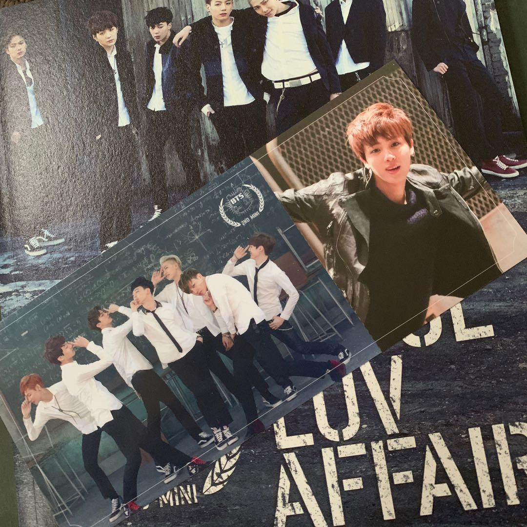 BTS SUGA & JIN PHOTOCARDS