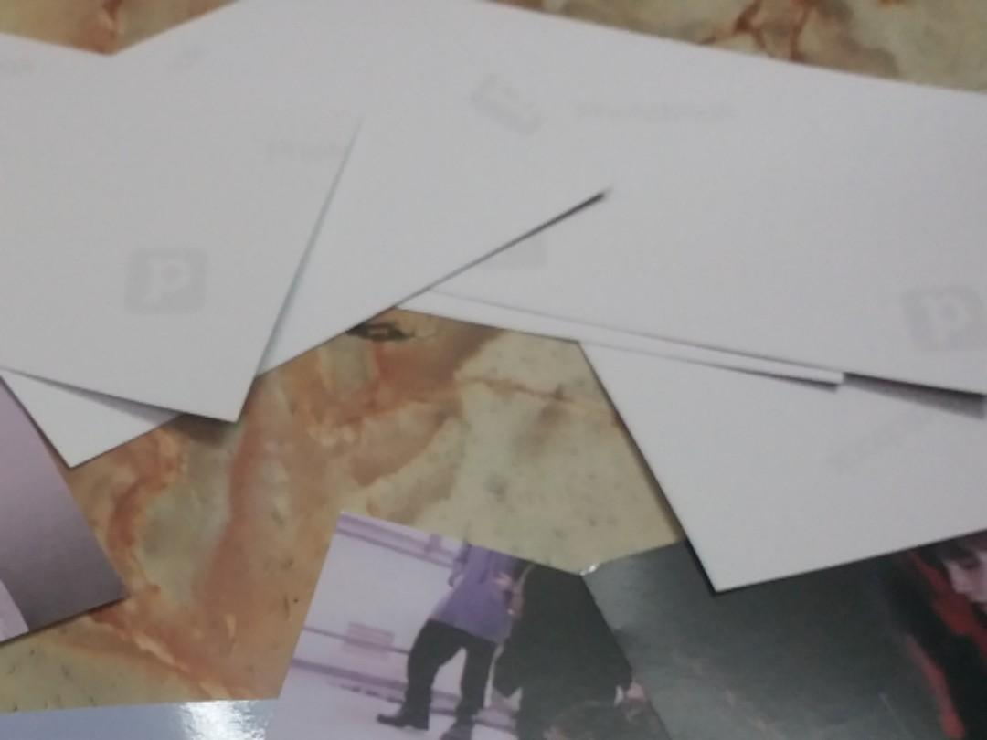 Bts unofficial exhibition 2018 book live printed photo.