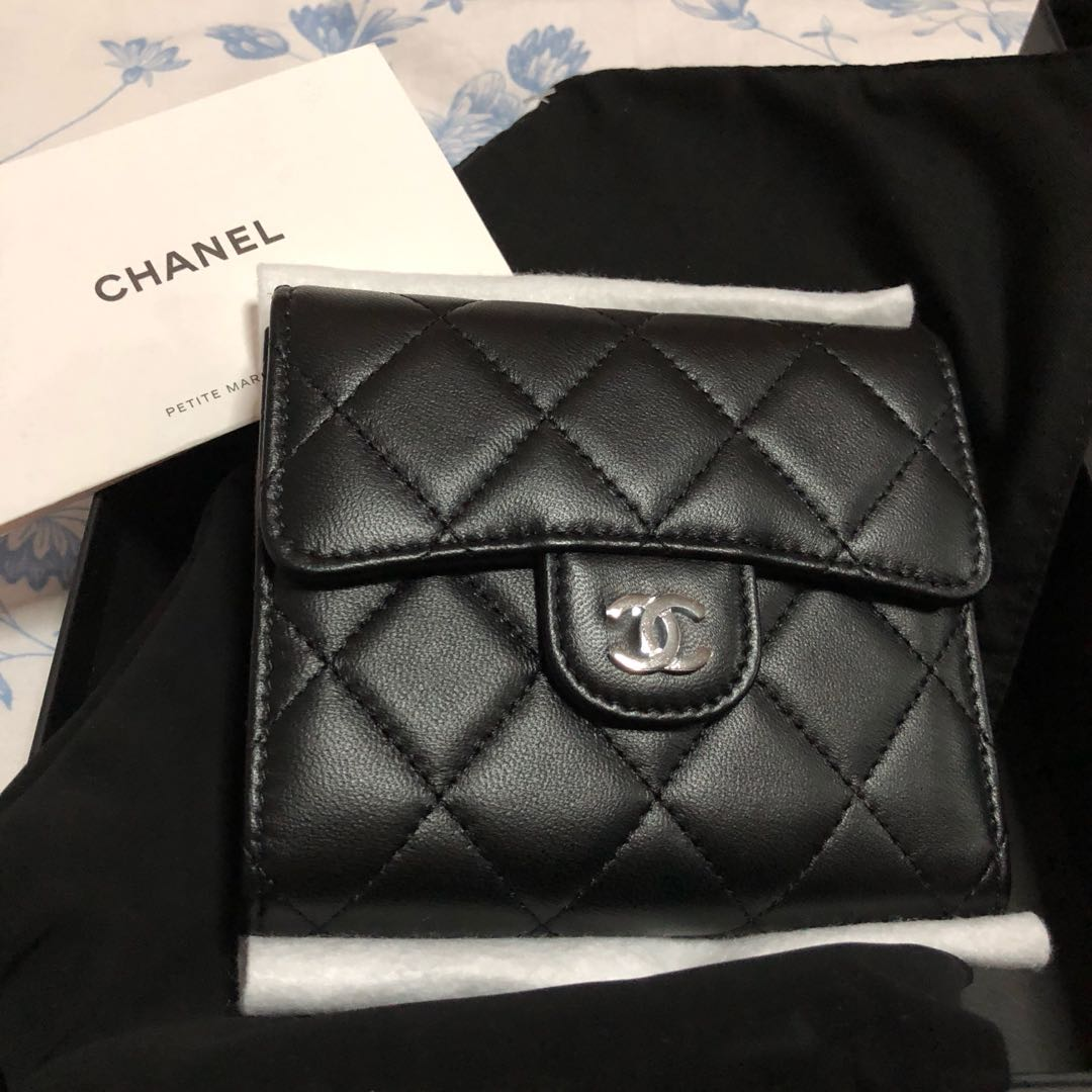 12cab52f95cb7f Chanel Classic Small Flap Wallet, Luxury, Bags & Wallets, Wallets on ...