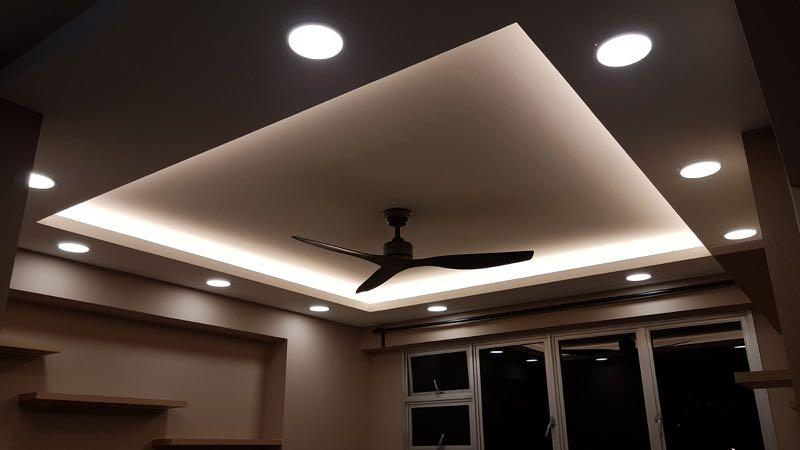 Cove Lighting L Box Ceiling Home Services Renovations On