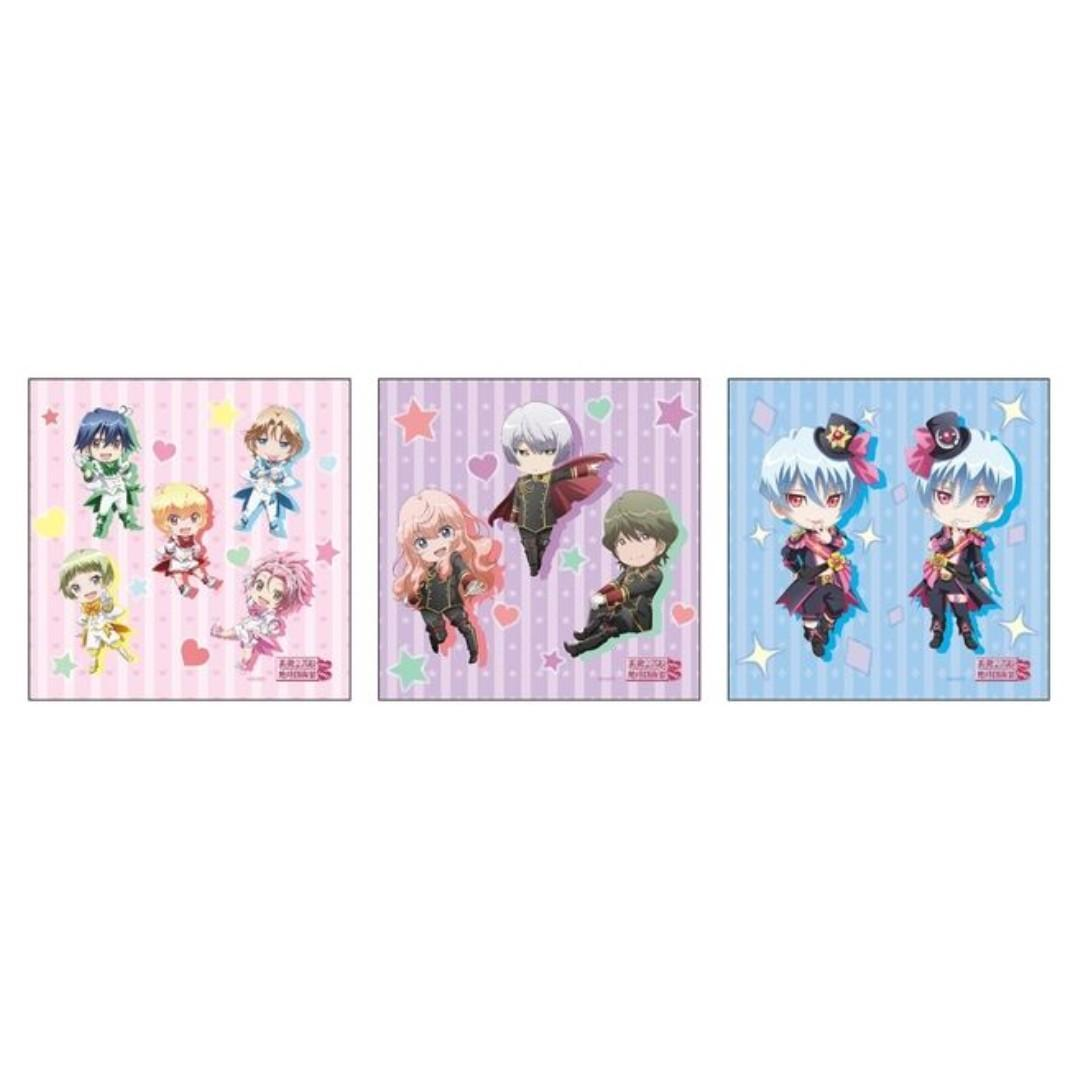 Cute High Earth Defense Club LOVE! LOVE! - Kusatsu Kinshirou, Gero Akoya, Arima Ibushi - Mini Towel