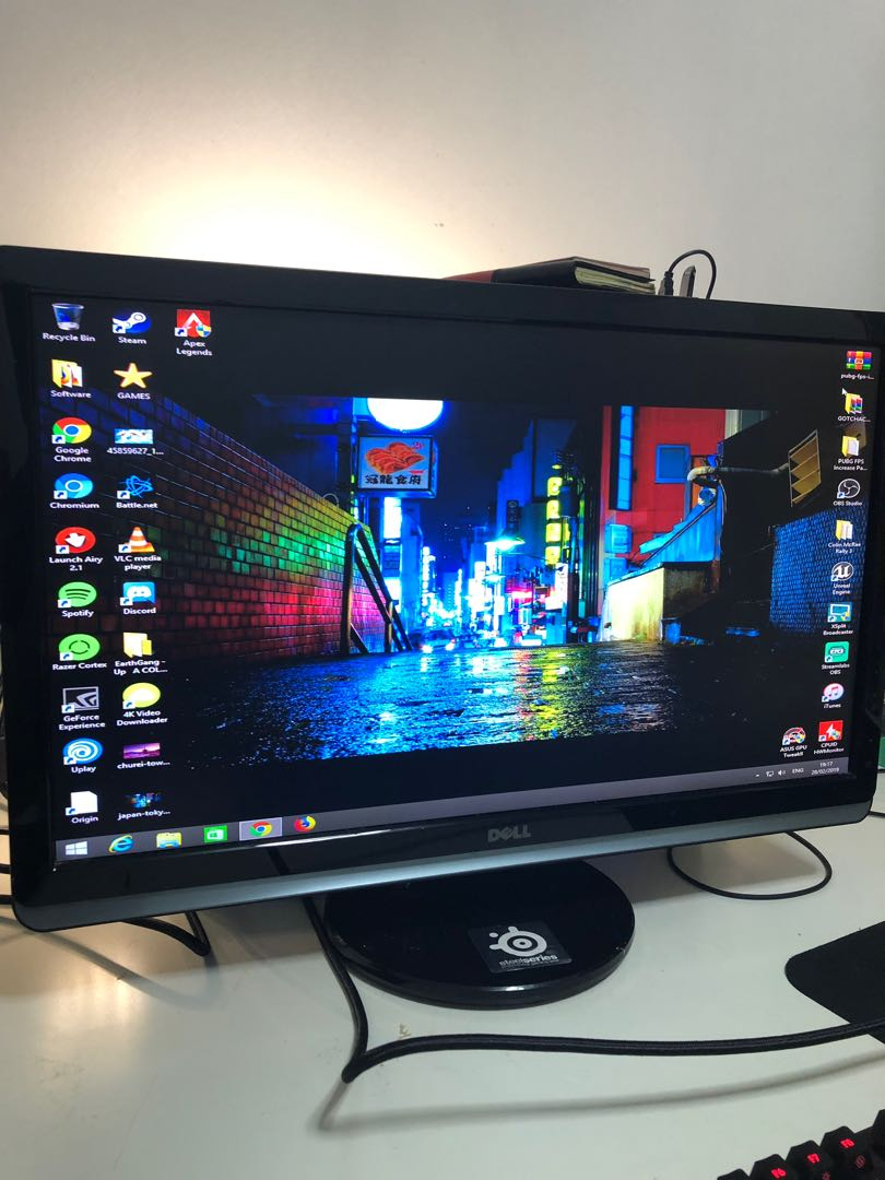 Dell ST2420L 24inch Full HD monitor with LED