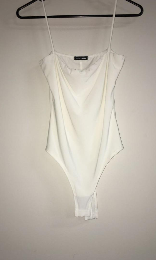 Dont be so square bodysuit - ivory