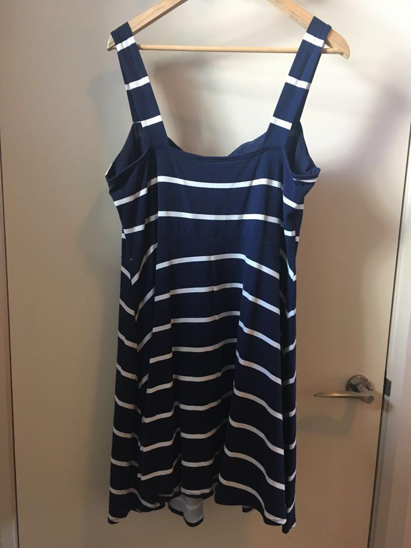Dorothy Perkins Summer Striped Dress Size 20
