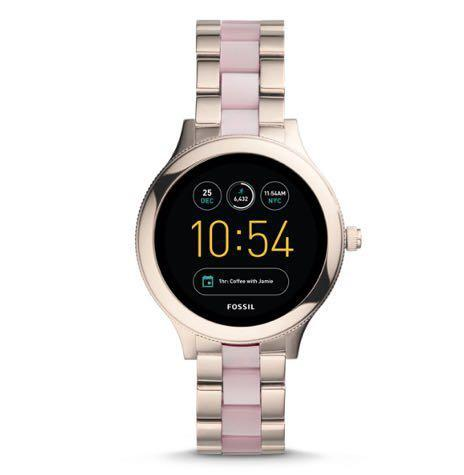 Fossil Gen 3 Smartwatch - Venture Pink Stainless Steel and Acetate