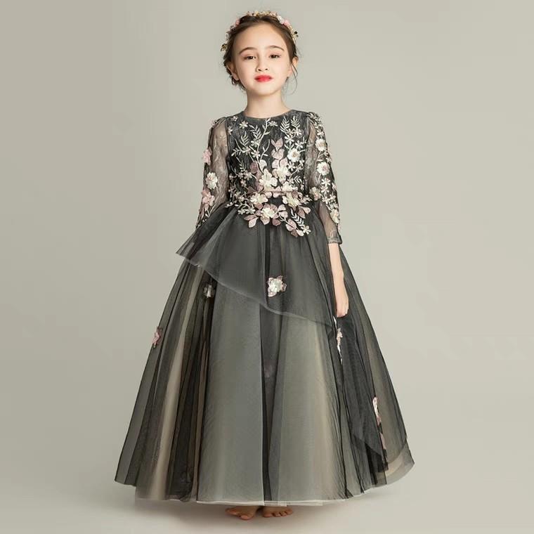 b6233af93 Girls princess dress evening dress pettiskirt children piano ...