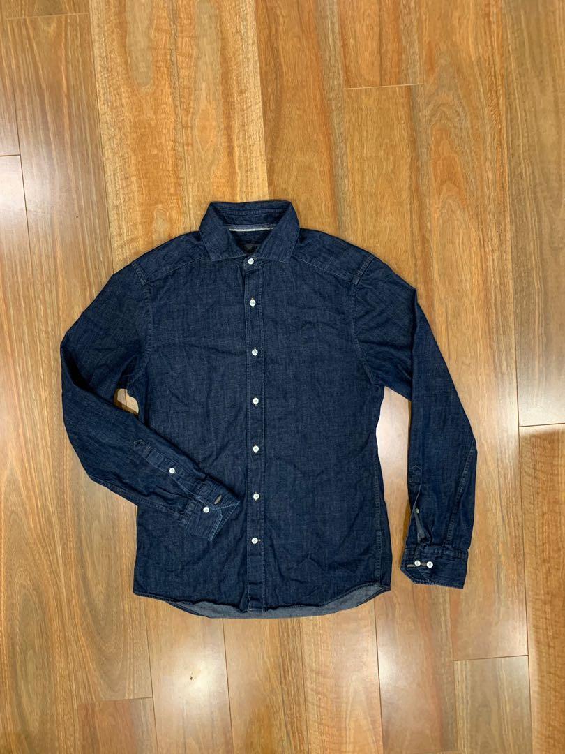 H&M Denim Long Sleeve Shirt
