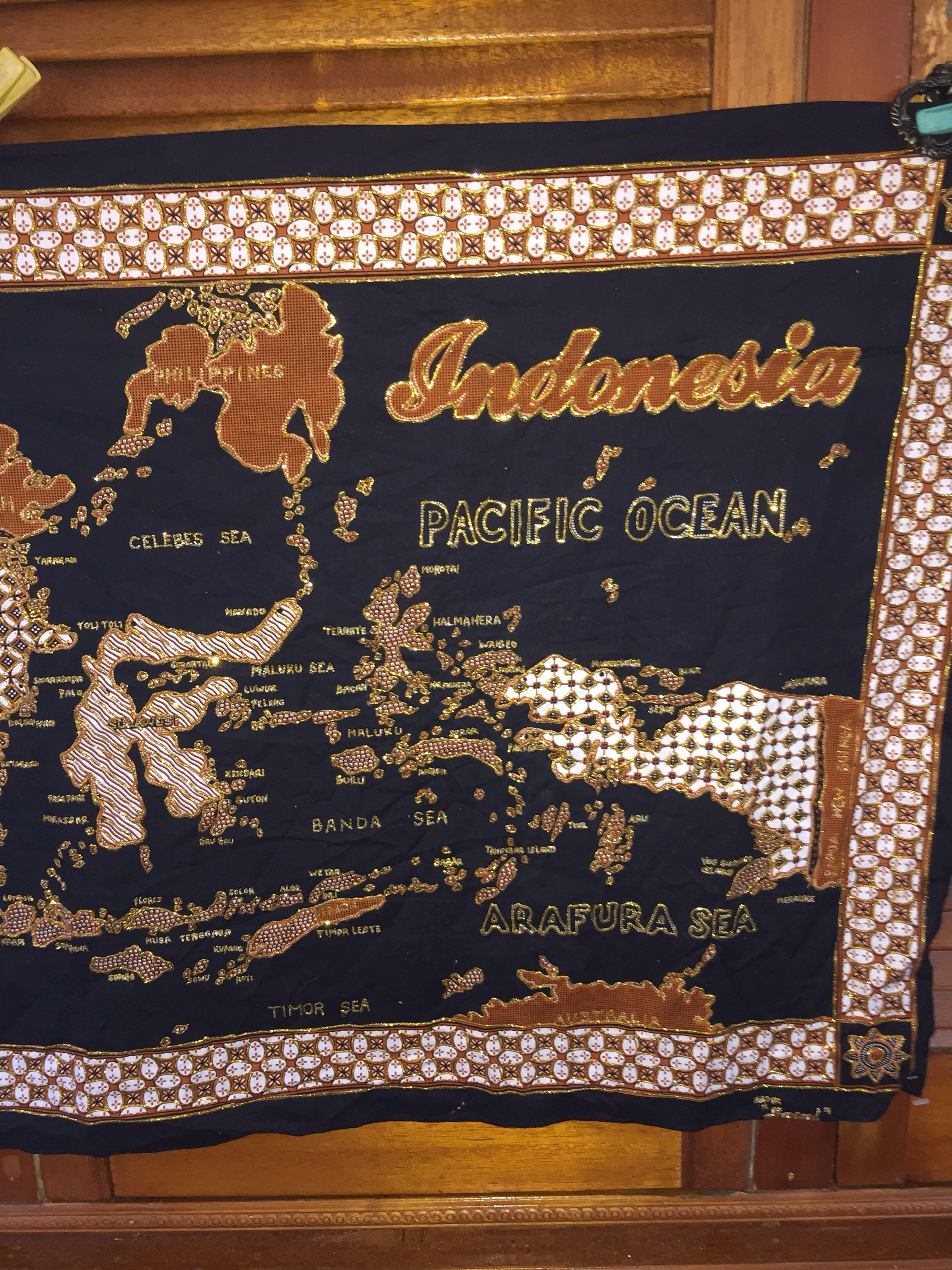 Indonesia wall hanging