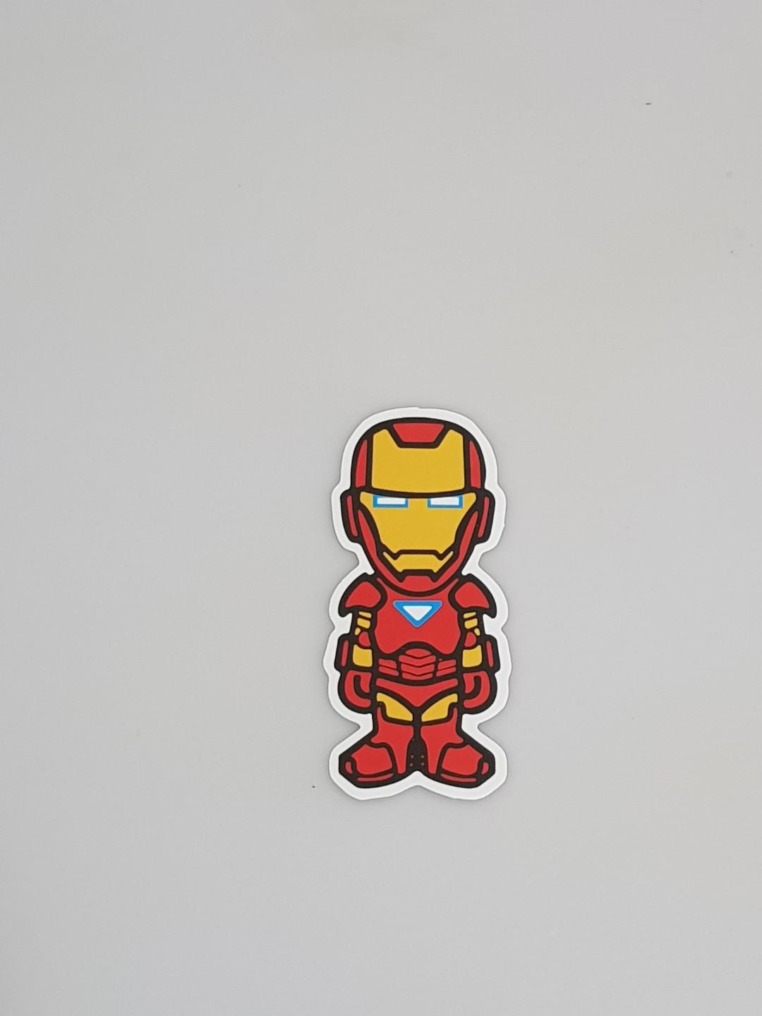 Iron Man Laptop/Luggage Sticker