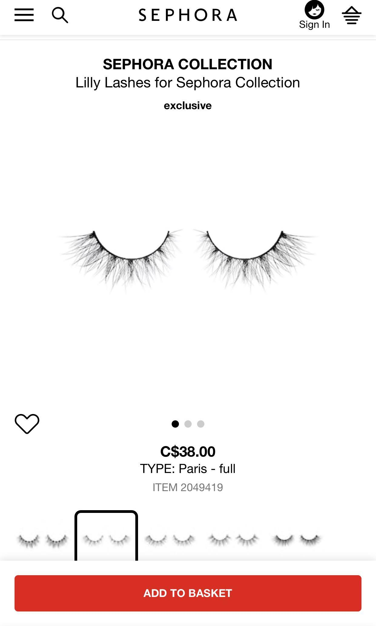 LILLY LASHES MINK