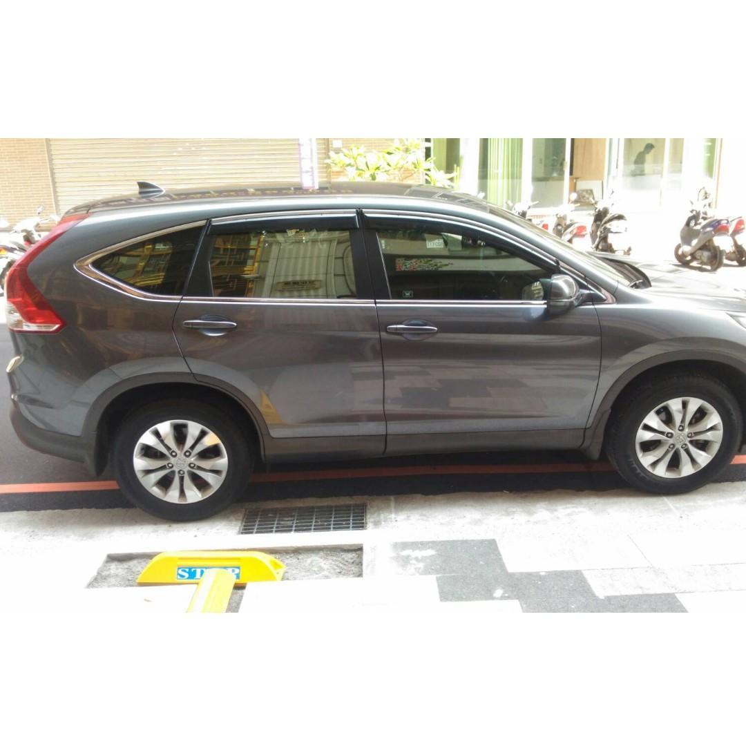 更多照片加LINE:0968865369  2012 Honda CR-V 灰 2.4
