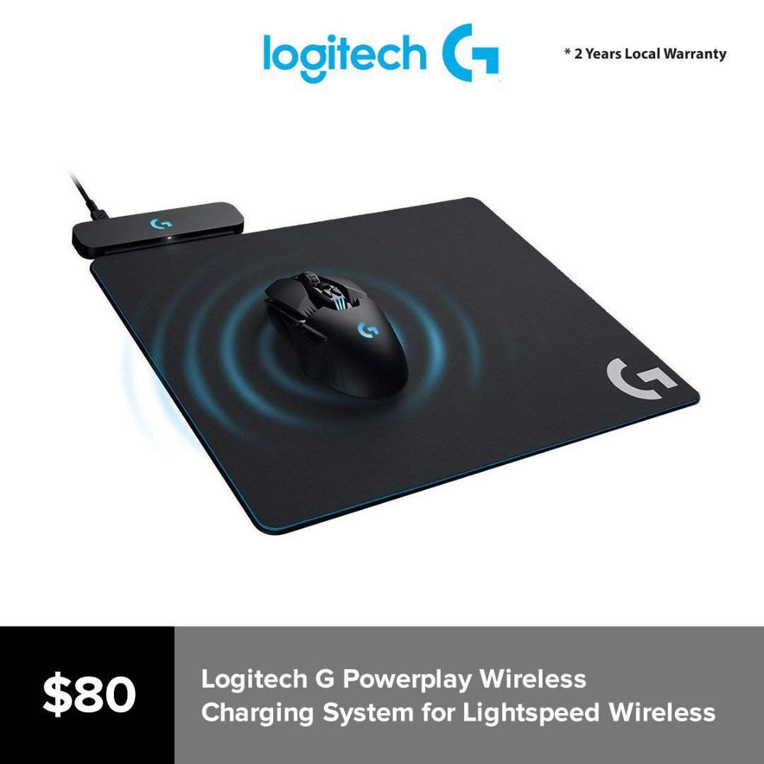aecd07cd2b1 Logitech G Powerplay Wireless Charging System for G703, G903 ...