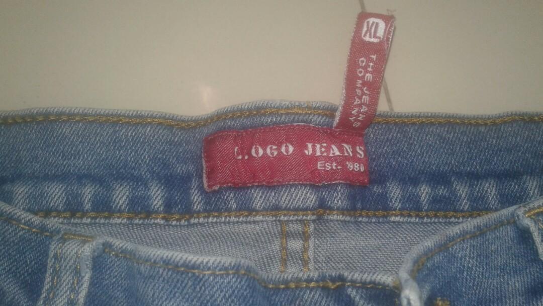 Logo Jeans Original ukuran XL