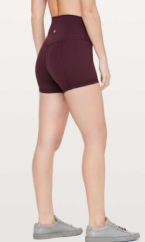 d68ff0a7c03d47 lululemon align shorts in dark Adobe size 2, Sports, Sports Apparel ...