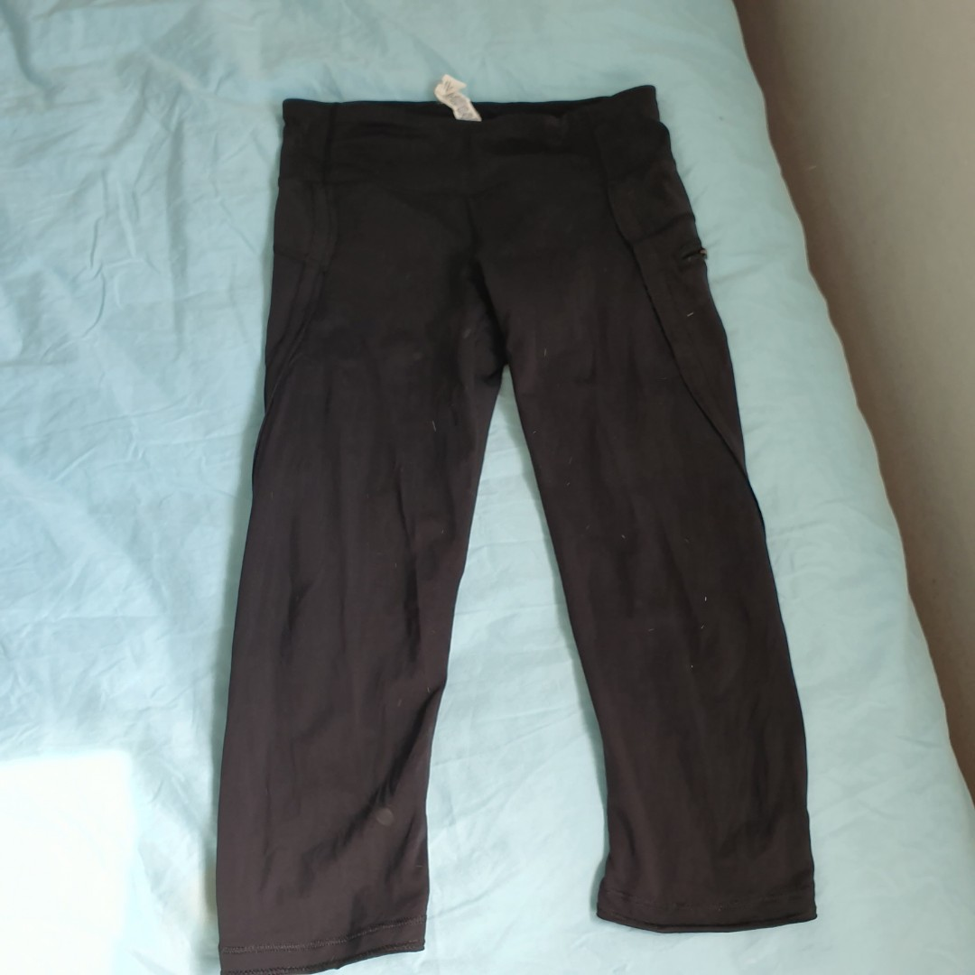 05dfc7deae Lululemon cropped leggings, Women's Fashion, Clothes, Pants, Jeans ...