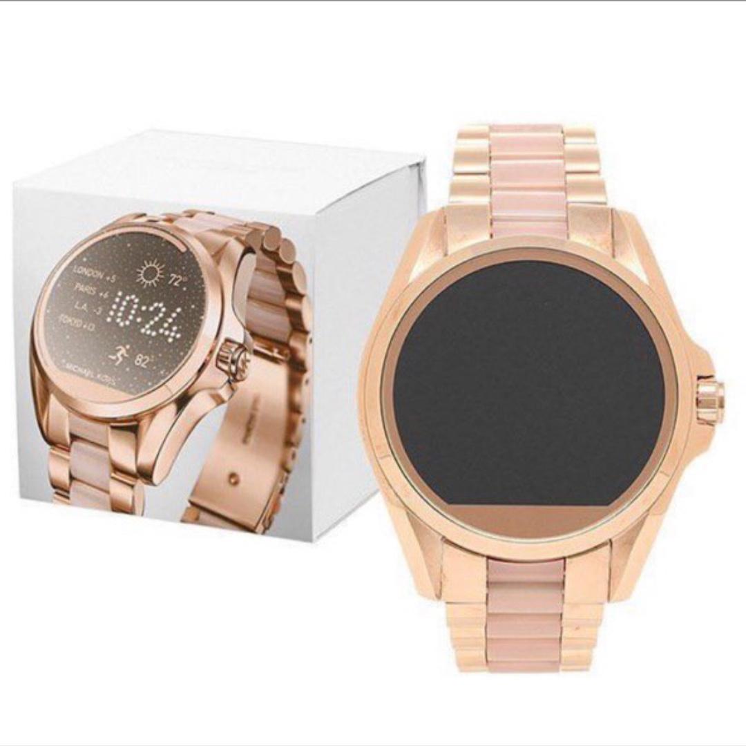 d0b155801923 Michael Kors Bradshaw Smartwatch MKT5013 Rose Gold Tone.