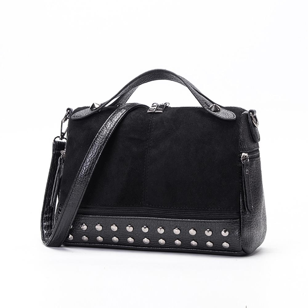 8d2af9a28 Mizzue Black Studded Bag, Handbag, Shoulder Bag, Crossbody Bag ...