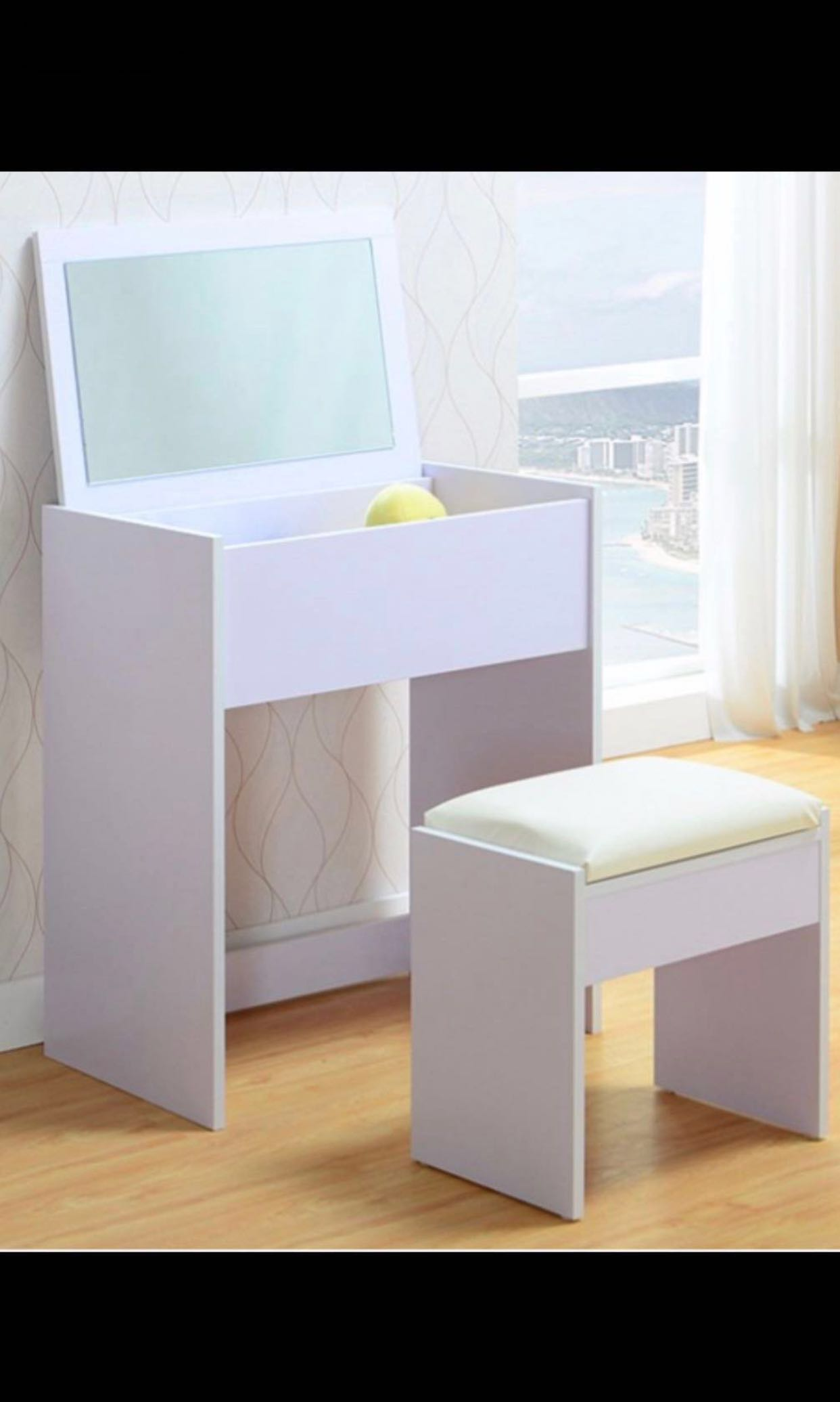 Modern minimalist dresser furniture tables chairs on carousell
