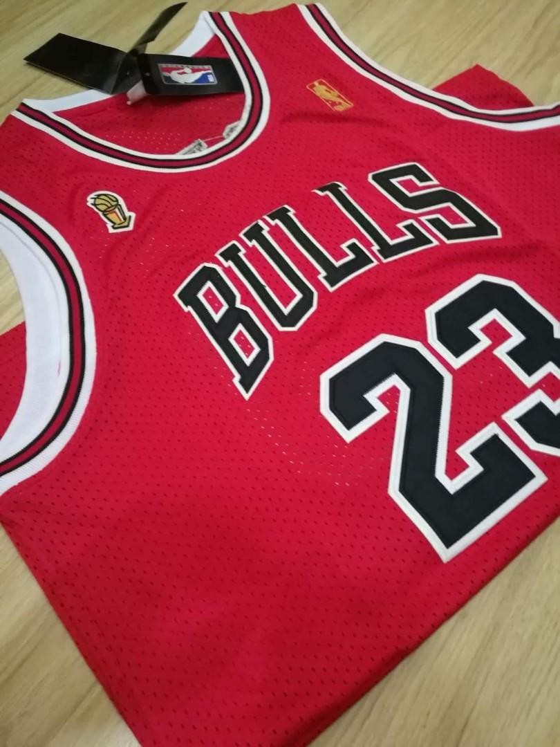 the best attitude a348d 535df Mitchell & Ness Jersey - Jordan 96-97 Finals Jersey, Sports ...