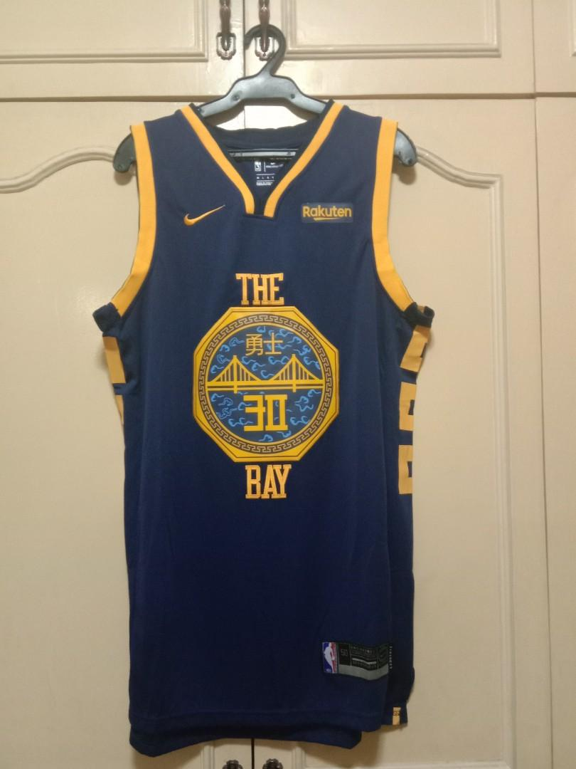 best loved f149a bdb81 NBA Jersey dri-fit Stephen Curry/The Bay (OEM) on Carousell