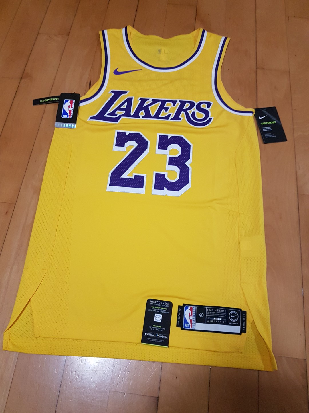 191eb6cfe8d NBA LA Lakers Lebron James Nike Authentic Jersey, Sports, Athletic ...