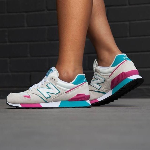 new balance turquoise pink
