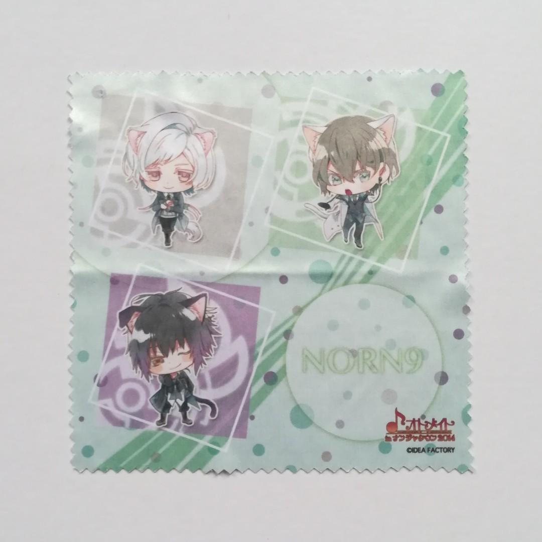 NORN9 Norn+Nonette x Otomate in Namjatown - Azuma Natsuhiko, Nijou Sakuya, Kagami Itsuki - Multi-Cloth / Glasses Cleaner Cloth