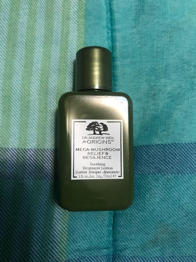 Origins - mega mushroom soothing treatment lotion - 30ml