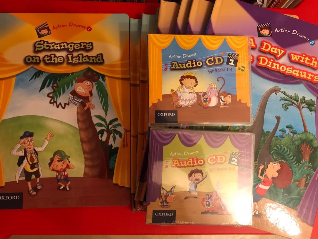 Oxford Path Action Drama Set (Books/CDs/Puppets)