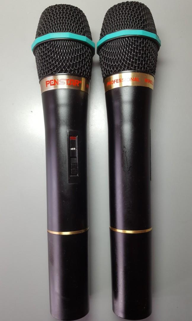 PENSTAR 專業無線咪一對 Professional Wireless Microphone