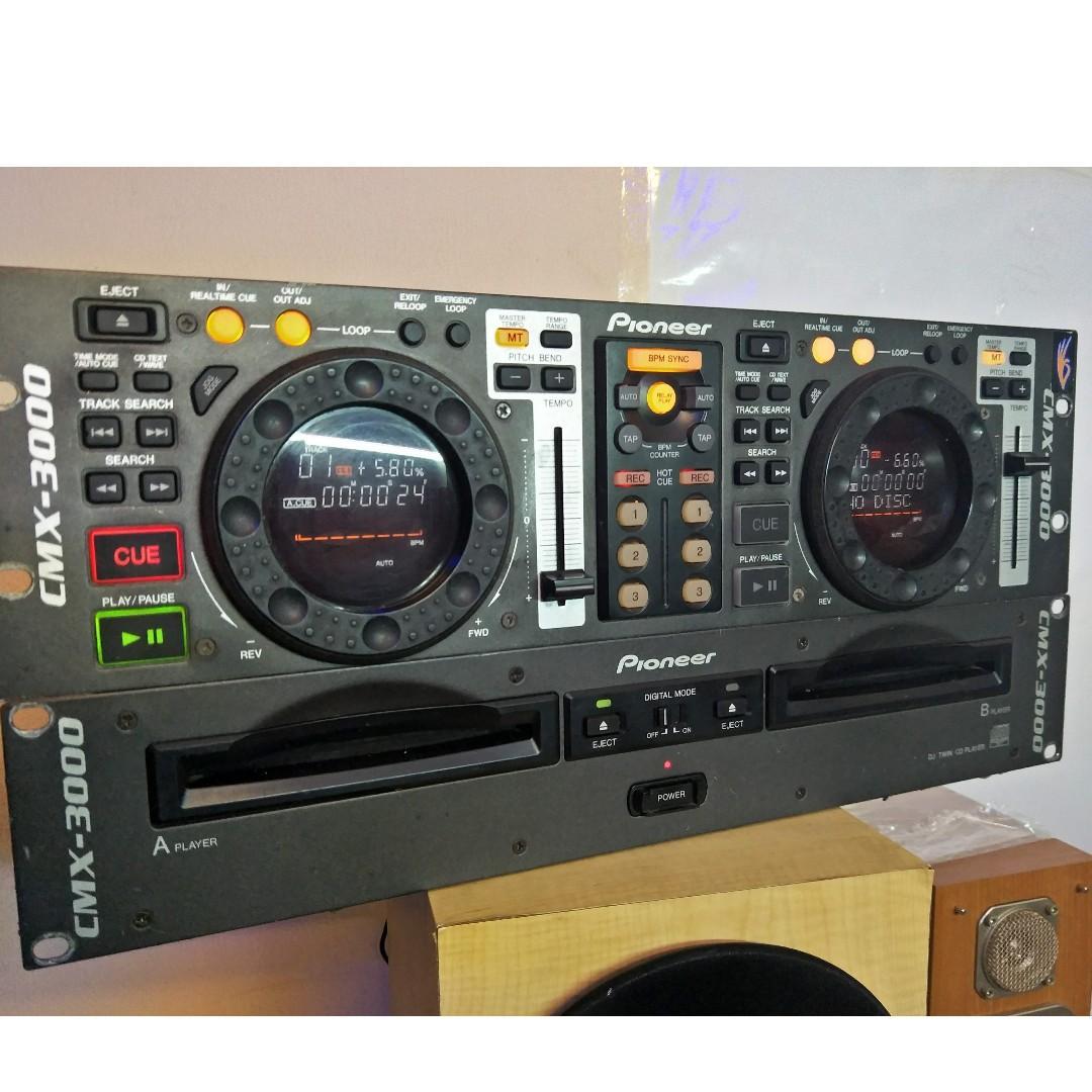Pioneer DJ CMX-3000 Dual Rackmount CD Player