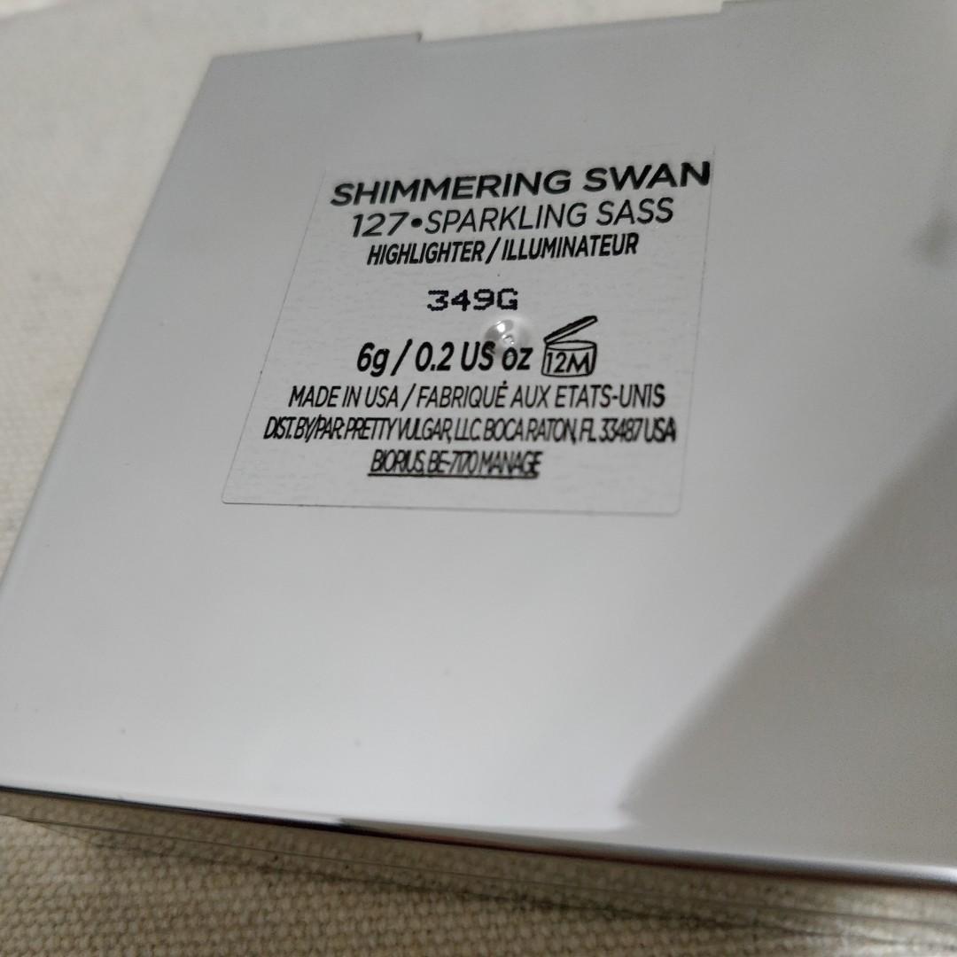 Pretty Vulgar Shimming Swan Highlighter 光影