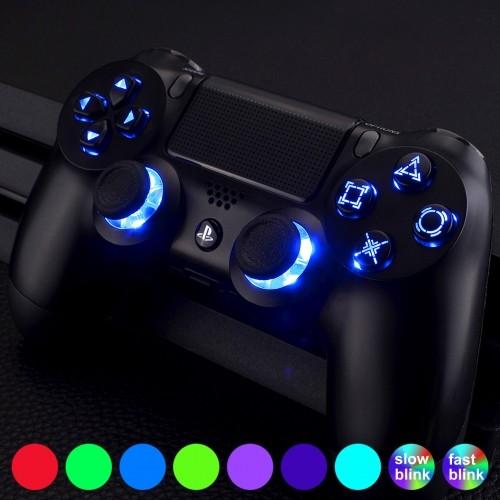 PS4 Controller dualshock mod  V2 led button lighting