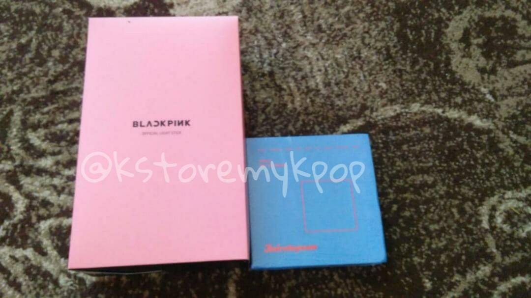 [Ready Stock] BlackPink lightstick & Twice Twicetagram