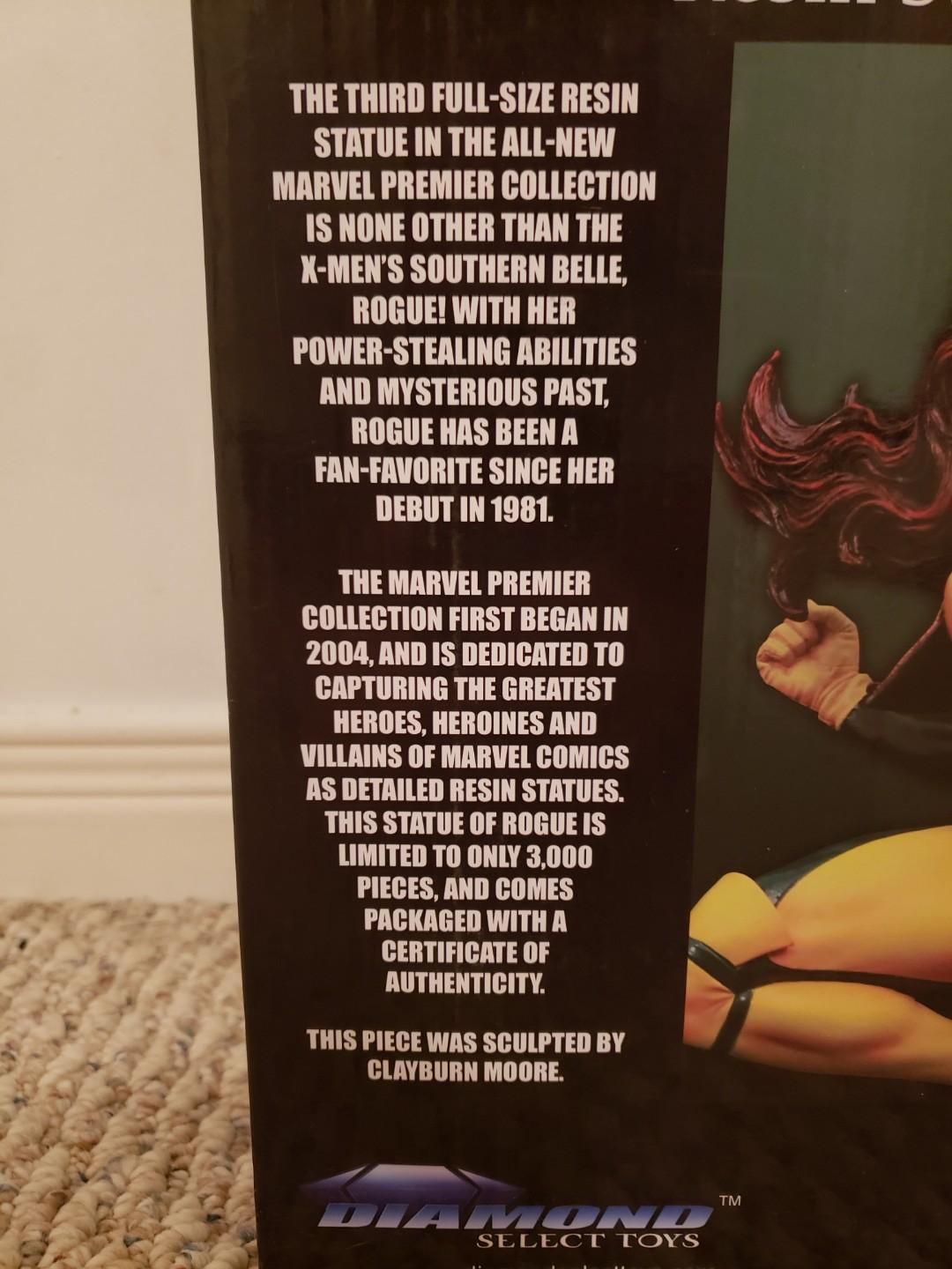 Rogue Statue by Diamond Select X-MEN Premier Collection Resin Statue