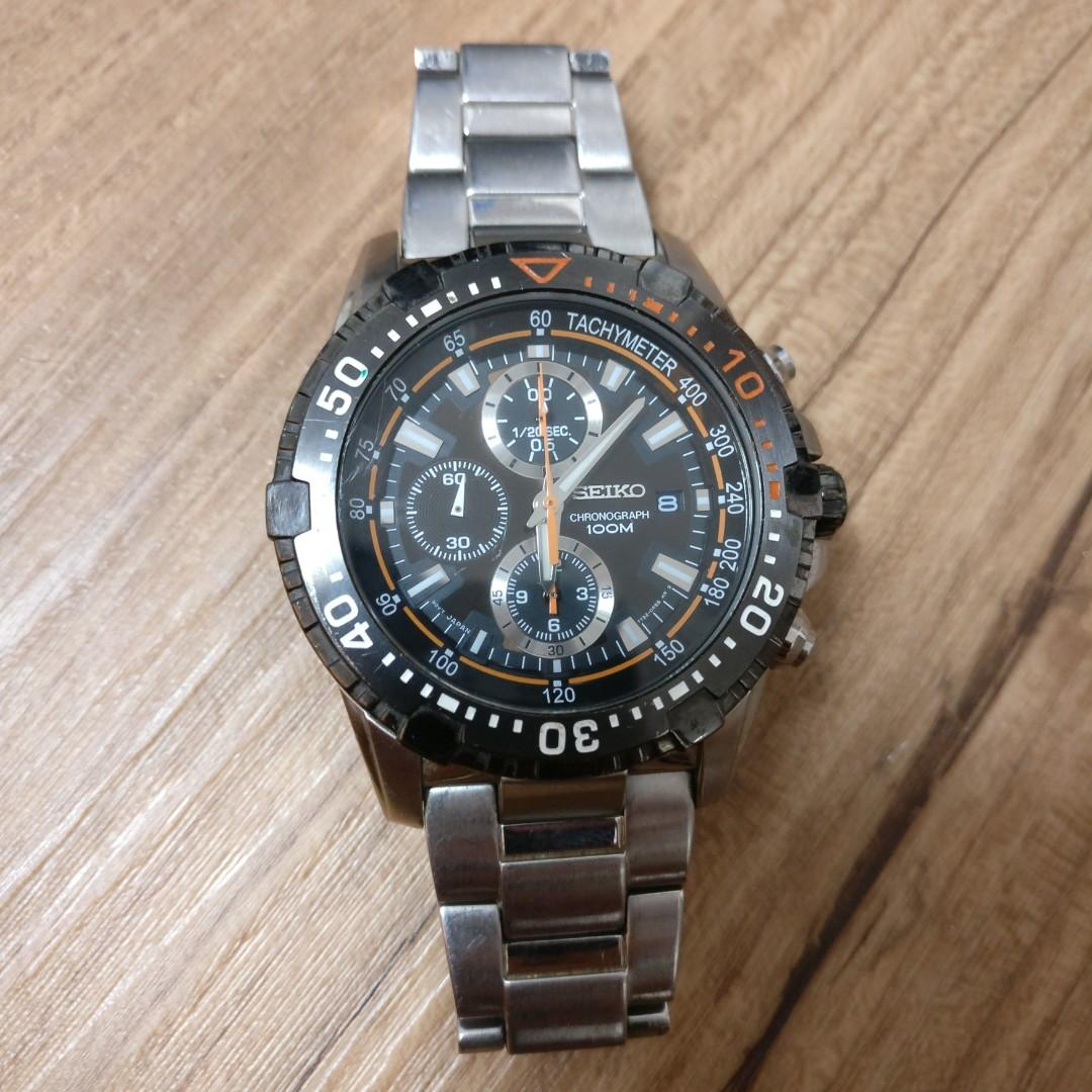 competitive price ed3ba 7f7c0 Seiko 7T92-0LG0 Chronograph, Men's Fashion, Watches on Carousell